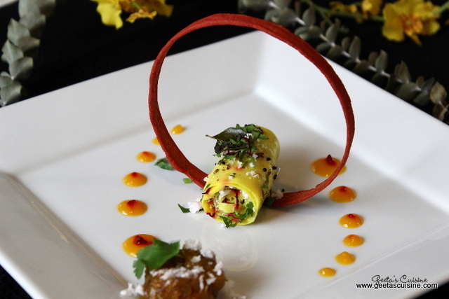 Stuffed Khandvi