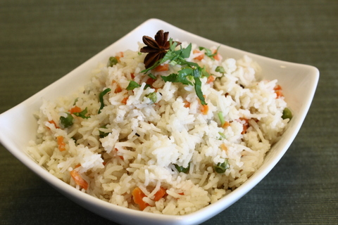 Peas Carrot Rice