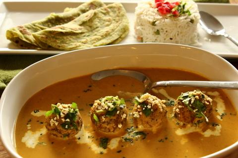 naan homemade naan with malai kofta rich and creamy malai kofta is ...