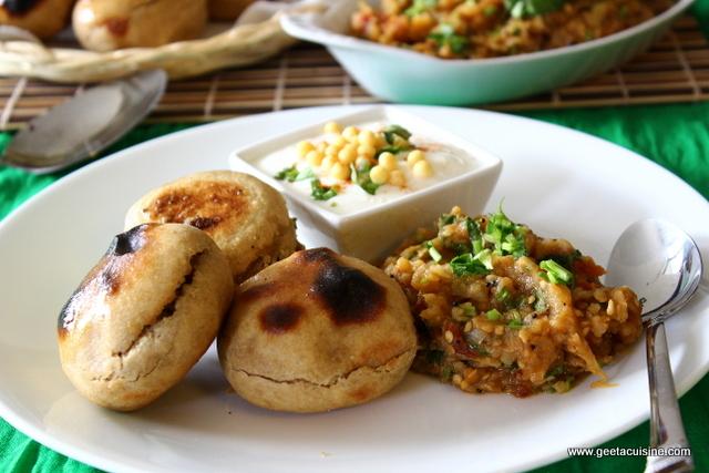 Litti chokha geeta 39 s cuisine for Abhiruchi south north indian cuisine