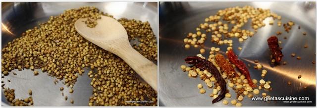 how to make rasam powder in tamil